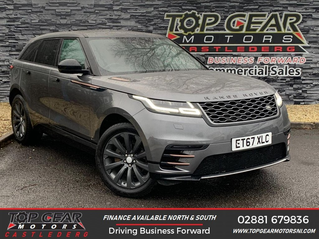USED 2017 67 LAND ROVER RANGE ROVER VELAR 2.0 180BHP R-DYNAMIC S AUTO  **Dynamic Styling Pack, Heated Leather Seats, Panoramic Sunroof** OVER 90 VEHICLES IN STOCK