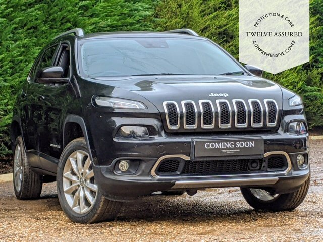 USED 2015 65 JEEP CHEROKEE 2.2 M-JET II LIMITED ADII 5d AUTO 197 BHP (1 OWNER FROM NEW)