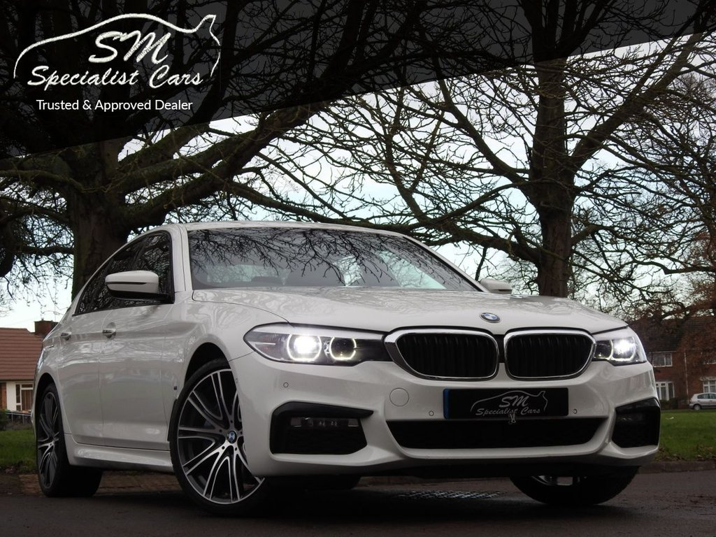 USED 2018 18 BMW 5 SERIES 2.0 530E M SPORT 4d 249 BHP 1 OWNER 98K FSH HUGE SPEC VAT Q