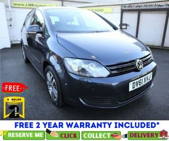 USED 2011 61 VOLKSWAGEN GOLF PLUS 2.0 SE TDI 5d 140 BHP *CLICK & COLLECT OR DELIVERY