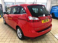 USED 2016 16 FORD GRAND C-MAX 1.5 ZETEC TDCI 5d 7 Seat Family MPV with Lovely Low Milage Ideal Large Family Car.Recent Service plus MOT & New Battery & Wipers now Ready to Finance and Drive Away Today The perfect family MPV!