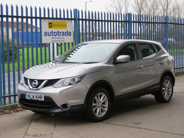 USED 2014 14 NISSAN QASHQAI 1.2 ACENTA DIG-T 5d 113 BHP Service History-Air Conditioning-Alloy Wheels
