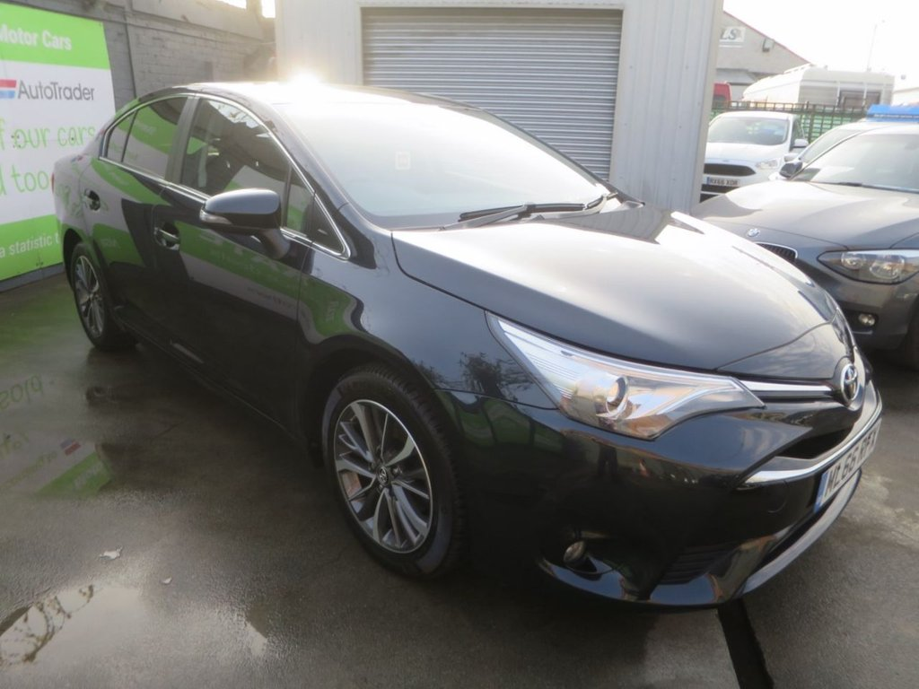 USED 2016 66 TOYOTA AVENSIS 1.6 D-4D BUSINESS EDITION PLUS 4d 110 BHP