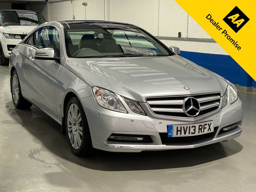 USED 2013 13 MERCEDES-BENZ E-CLASS 2.1 E250 CDI BLUEEFFICIENCY SE 2d 204 BHP FULL HISTORY---PANORAMIC ROOF