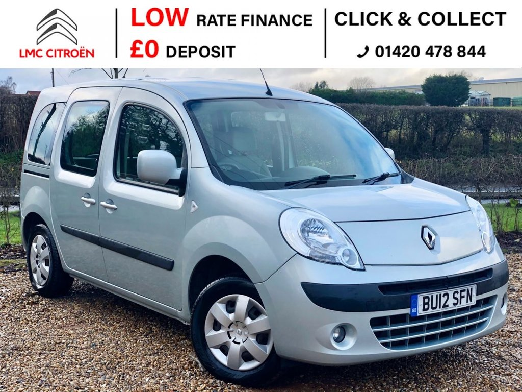 USED 2012 12 RENAULT KANGOO 1.6 EXPRESSION 16V 5d 105 BHP ***WHEELCHAIR ACCESSIBLE***