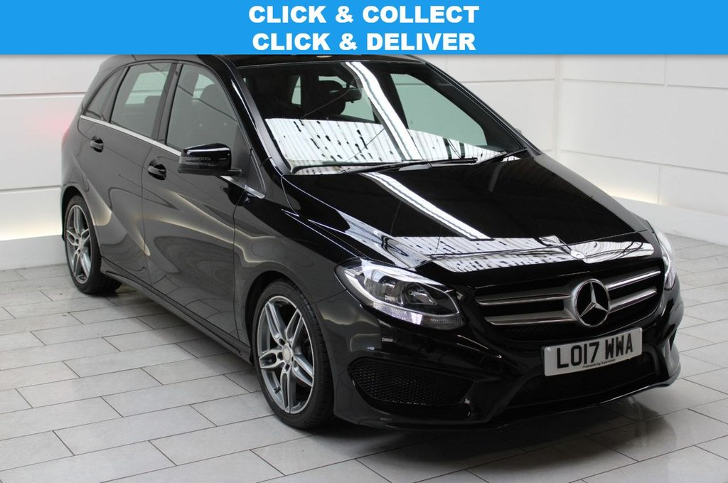 USED 2017 17 MERCEDES-BENZ B-CLASS 1.5 B180d AMG Line (start/stop)