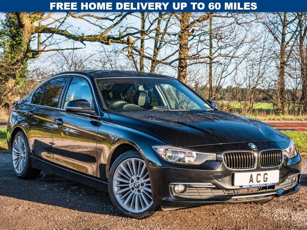 USED 2013 63 BMW 3 SERIES 2.0 320D LUXURY 4d 184 BHP