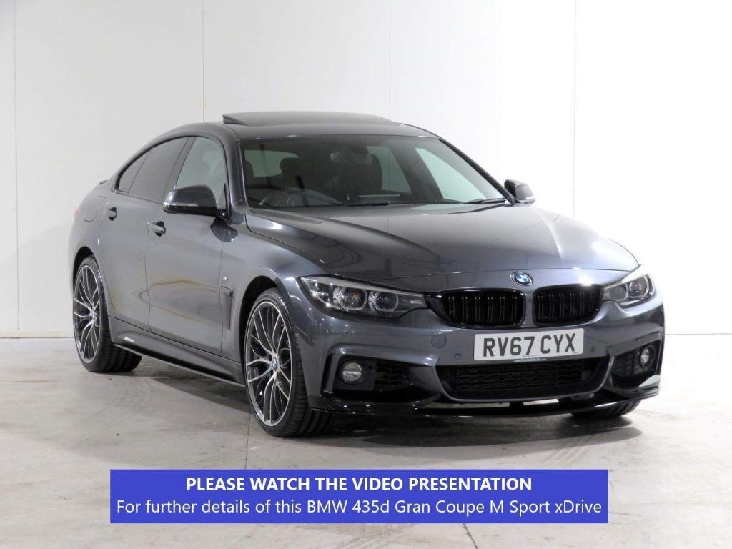 USED 2017 67 BMW 4 SERIES GRAN COUPE 3.0 435d M Sport Gran Coupe Auto xDrive (s/s) 5dr ADAPT-SUSP*HEADUP*S/ROOF +MORE