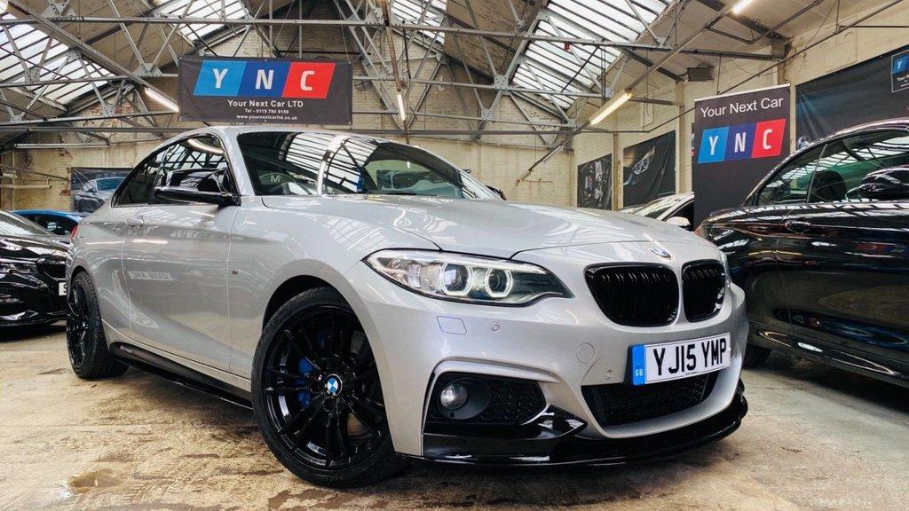 USED 2015 15 BMW 2 SERIES 2.0 220d M Sport (s/s) 2dr PERFORMANCEKIT+MPLUSPACK+19S
