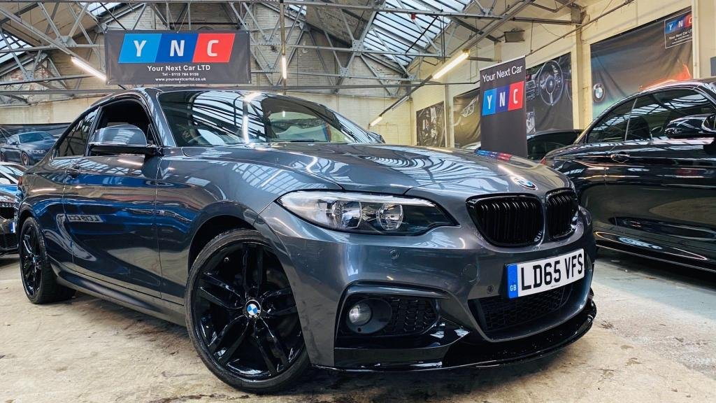 USED 2015 65 BMW 2 SERIES 2.0 218d M Sport (s/s) 2dr PERFORMANCEKIT+18S+PRIVACY