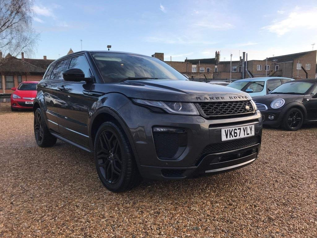 USED 2017 67 LAND ROVER RANGE ROVER EVOQUE 2.0 TD4 HSE Dynamic Lux Auto 4WD (s/s) 5dr Big Screen Nav, T.V, Camera's