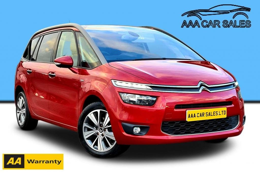 USED 2014 14 CITROEN C4 GRAND PICASSO 1.6 e-HDi Airdream Exclusive+ 5dr PAN ROOF SAT NAV PARK ASSIT