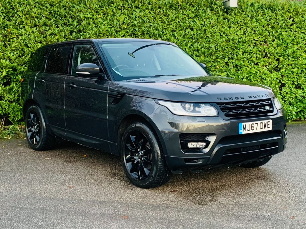 USED 2017 67 LAND ROVER RANGE ROVER SPORT 2.0 SD4 HSE 5d 238 BHP