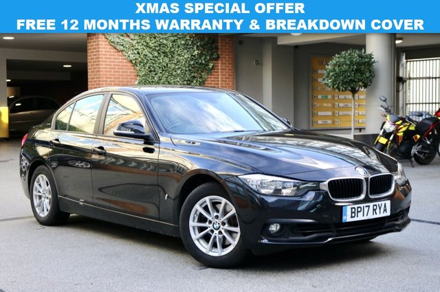 USED 2017 17 BMW 3 SERIES 2.0 330E SE 4d 181 BHP
