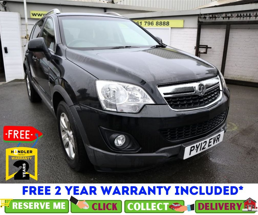 USED 2012 12 VAUXHALL ANTARA 2.2 EXCLUSIV CDTI 2WD S/S 5d 161 BHP *CLICK & COLLECT OR DELIVERY
