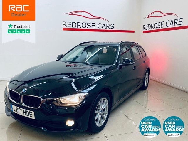 USED 2017 17 BMW 3 SERIES 2.0 320D ED PLUS TOURING 5d 161 BHP SRVC HISTORY, 1 OWNER, 2 KEYS