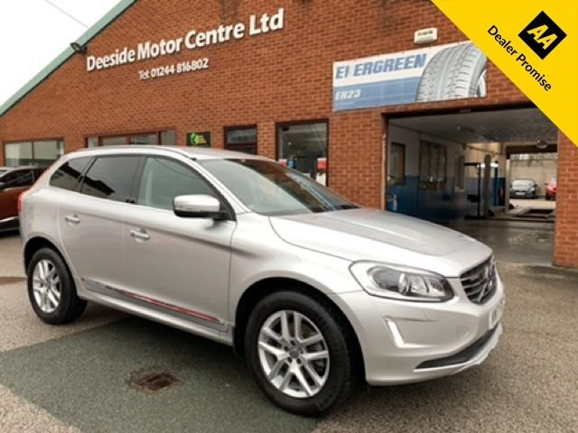 USED 2017 17 VOLVO XC60 2.4 D4 SE LUX NAV AWD 5d 187 BHP FULL VOLVO SERVICE HISTORY; HIGH SPECIFICATION
