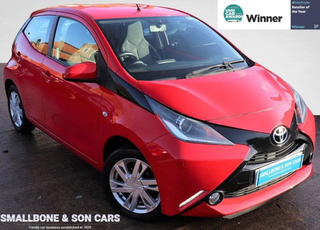 USED 2014 64 TOYOTA AYGO 1.0 VVT-I X-PRESSION 5d 69 BHP * BUY ONLINE * FREE NATIONWIDE DELIVERY *