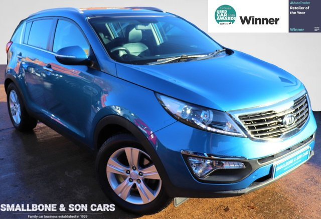 USED 2014 14 KIA SPORTAGE 1.6 2 5d 133 BHP * BUY ONLINE * FREE NATIONWIDE DELIVERY *