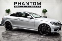 USED 2012 62 MERCEDES-BENZ C-CLASS 2.1 C220 CDI BLUEEFFICIENCY AMG SPORT PLUS 2d 168 BHP