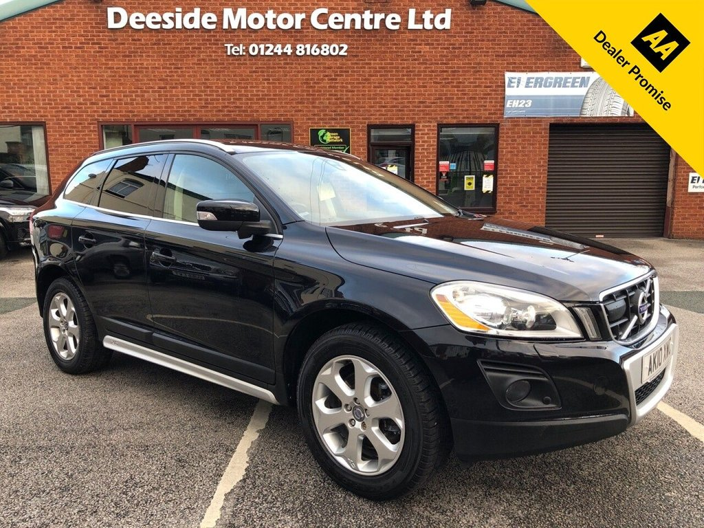 USED 2010 10 VOLVO XC60 2.4 D5 SE LUX AWD 5d 205 BHP Panoramic sunroof : Bluetooth : Sat Nav : Leather upholstery : Family pack (rear booster seats) : Electric/Heated front seats : Air-conditioning/Climate control : Cargo cover : Retractable dog guard : Rear view camera : Front + rear parking sensors