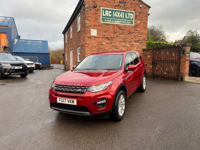 USED 2017 17 LAND ROVER DISCOVERY SPORT 2.0 TD4 SE TECH 5d 180 BHP Great Example Low Mileage