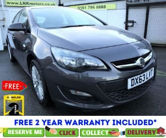 USED 2013 63 VAUXHALL ASTRA 1.6 ENERGY 5d 113 BHP *CLICK & COLLECT OR DELIVERY