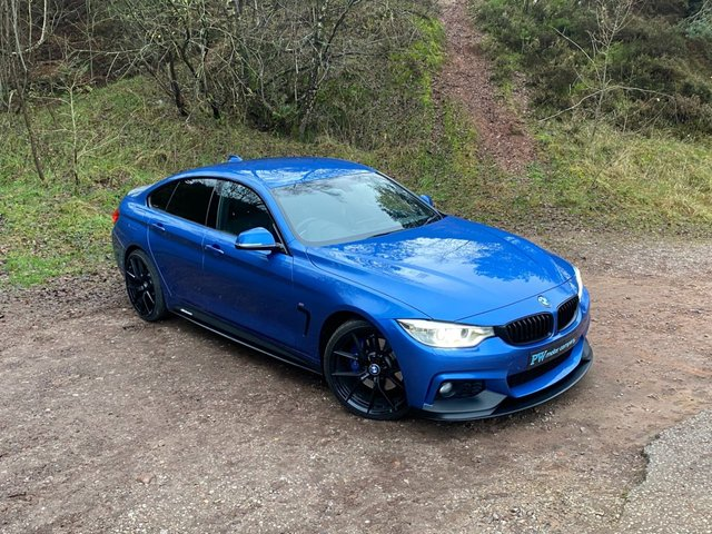 USED 2017 17 BMW 4 SERIES 2.0 420D M SPORT GRAN COUPE 4d 188 BHP FULL M PERORMANCE BODY KIT