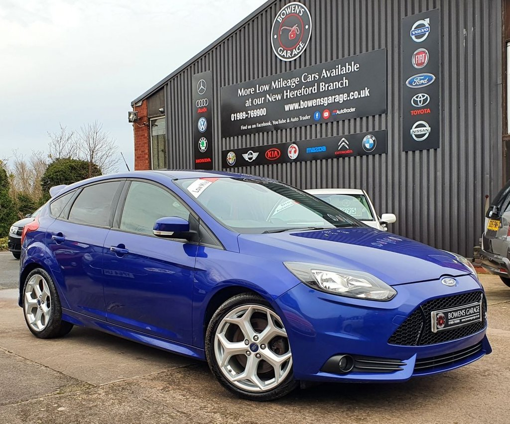 USED 2014 14 FORD FOCUS 2.0 ST-2 5D 247 BHP Low Miles - 6 Services - Local Car