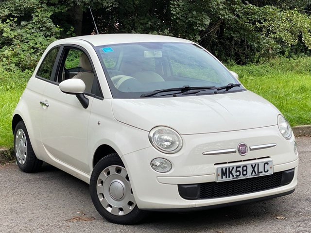 USED 2008 58 FIAT 500 1.2 POP 3d 69 BHP * LOW MILEAGE CAR * 12 MONTHS FREE AA MEMBERSHIP * 128 POINT AA INSPECTION *