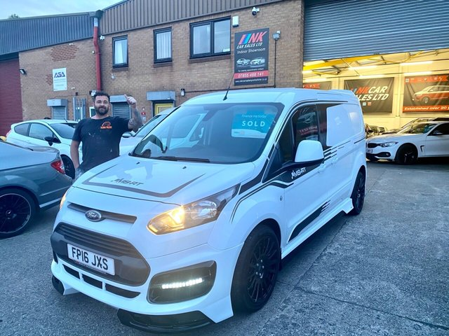 2016 16 FORD TRANSIT CONNECT 1.6 240 TREND P/V 94 BHP AIR CON THREE SEATER  SOLD TO MIKEY  FROM TILING VALTEC IN HEARTFORDSHIRE