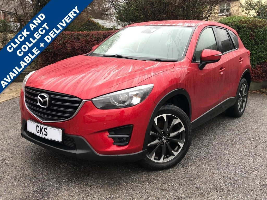 USED 2016 66 MAZDA CX-5 2.2 D SPORT NAV 5d 148 BHP ** SAT NAV | CRUISE CONTROL | FULL HEATED LEATHER SEATS **