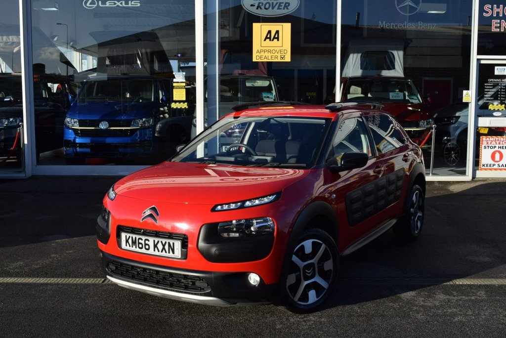 USED 2016 66 CITROEN C4 CACTUS 1.6 BLUEHDI FLAIR 5d 98 BHP FINANCE TODAY WITH NO DEPOSIT - SERVICE HISTORY