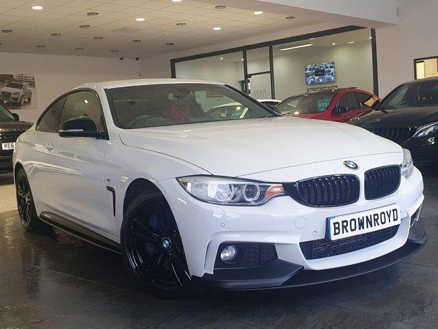 USED 2015 15 BMW 4 SERIES 3.0 430D XDRIVE M SPORT 2d 255 BHP BM PERFORMANCE STYLING+6.9%APR
