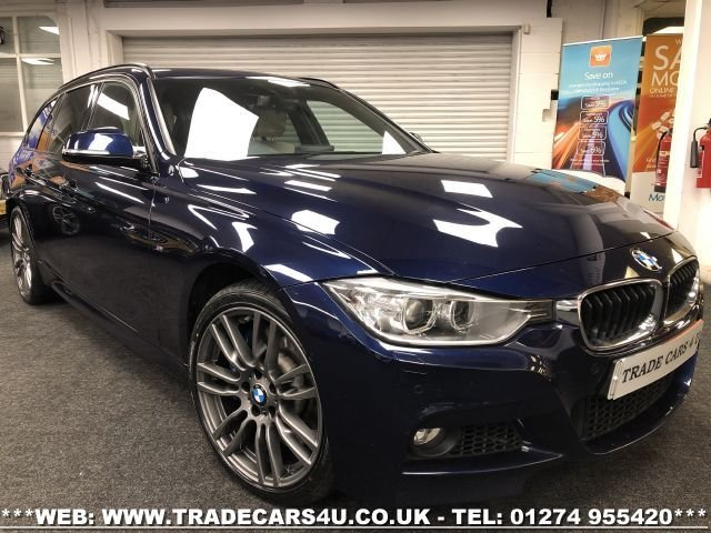 2015 15 BMW 3 SERIES 3.0 335D XDRIVE M SPORT TOURING 5d 313 BHP
