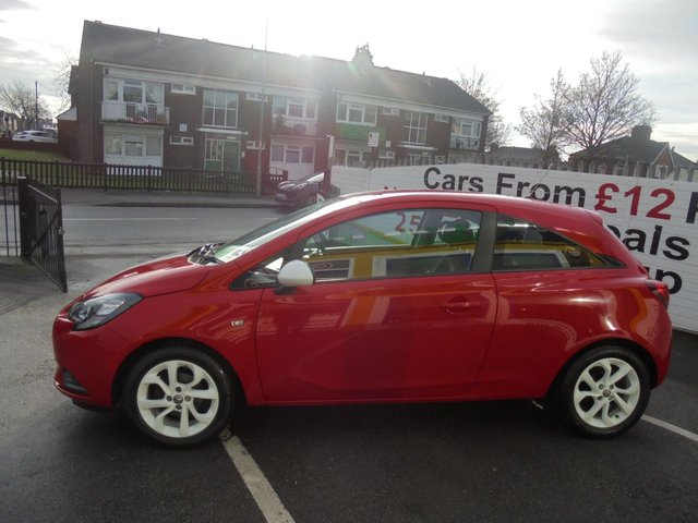 USED 2017 17 VAUXHALL CORSA 1.4 STING ECOFLEX 3d 74 BHP **  JUST ARRIVED ** BUY NOW PAY NEXT YEAR