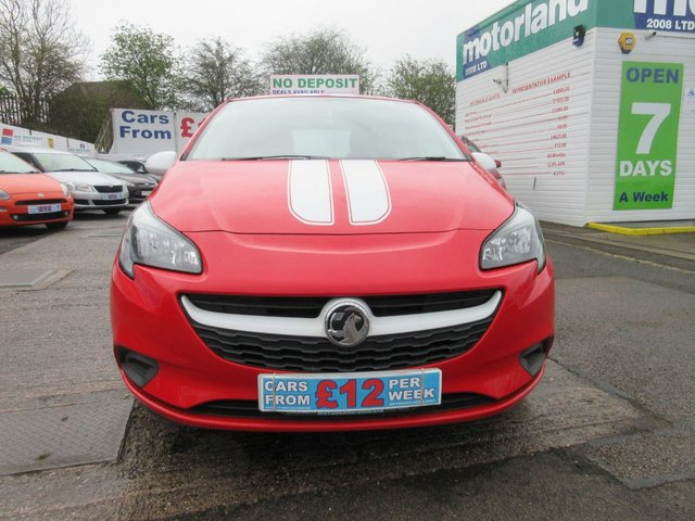 USED 2017 17 VAUXHALL CORSA 1.4 STING ECOFLEX 3d 74 BHP **CALL 01543 454566  FOR MORE INFO**
