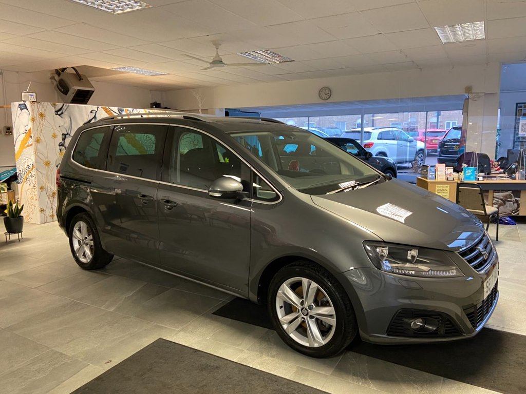 USED 2017 17 SEAT ALHAMBRA 2.0 TDI XCELLENCE 5d 148 BHP