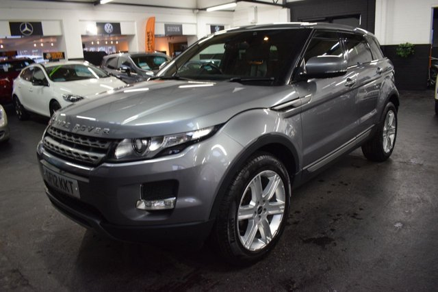 USED 2012 12 LAND ROVER RANGE ROVER EVOQUE 2.2 TD4 PURE TECH 5d 150 BHP 4X4 GREAT VALUE 2.2 TD4 4X4 - 7 STAMPS TO 87K - LEATHER - NAV - HEATED SEATS - 19 INCH ALLOYS - PRIVACY - MERIDIEN SPEAKERS - MEMORY SEATS