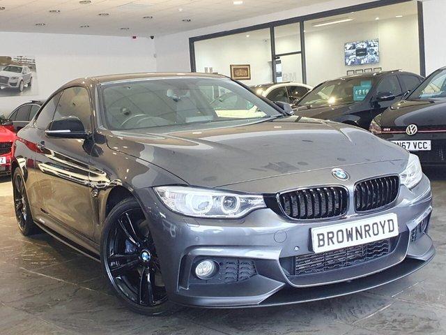USED 2015 65 BMW 4 SERIES 3.0 430D XDRIVE M SPORT 2d 255 BHP BM PERFORMANCE STYLING+6.9%APR