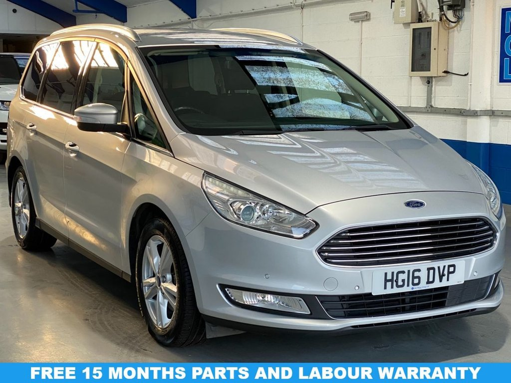 USED 2016 16 FORD GALAXY 2.0 TITANIUM TDCI 5d 148 BHP FULL SERVICE HISTORY---1 OWNER