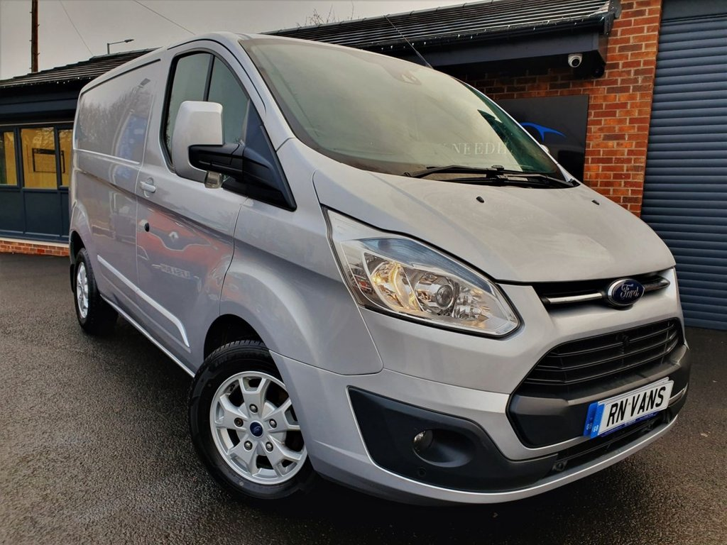 USED 2014 14 FORD TRANSIT CUSTOM 2.2 270 LIMITED LR P/V 124 BHP *** REV CAM - A/C - HEATED SEAT ***