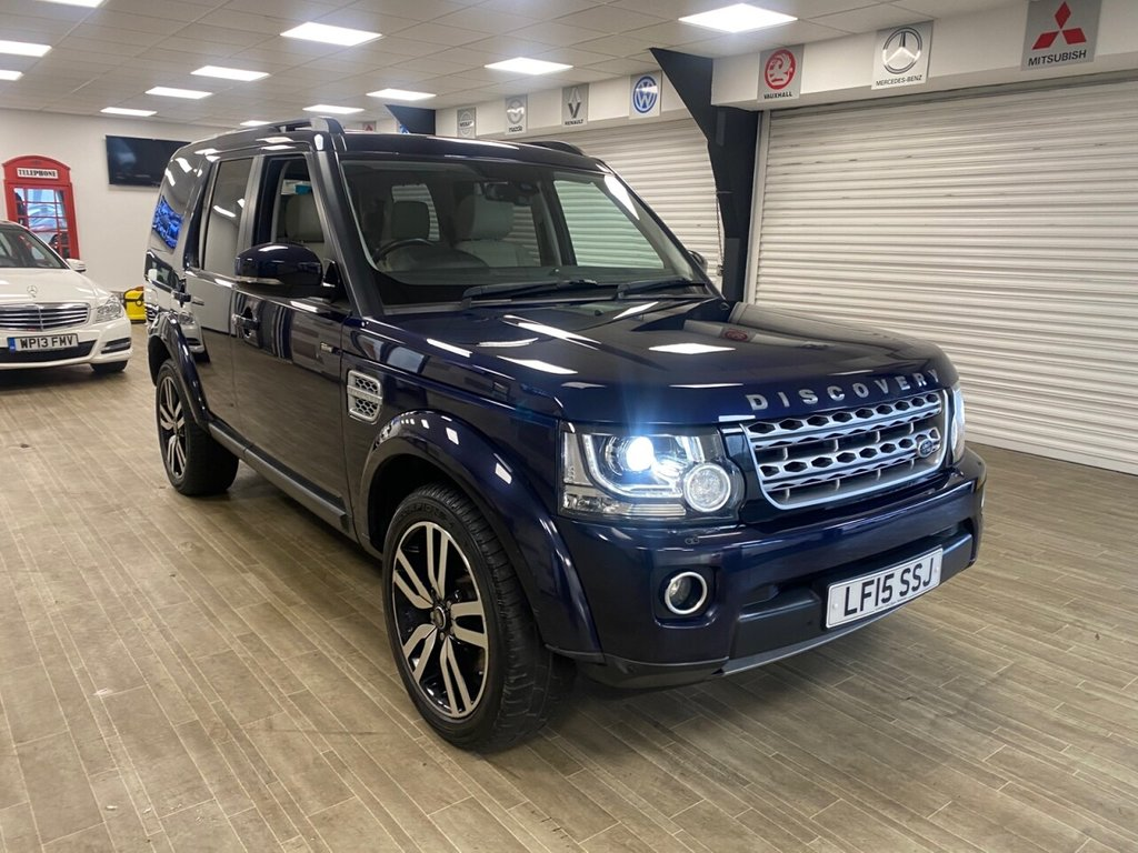 USED 2015 15 LAND ROVER DISCOVERY 3.0 SDV6 HSE LUXURY 5d 255 BHP FREE HOME DELIVERY CONTACTLESS CALL US ON 07785902621 AFTERHOURS