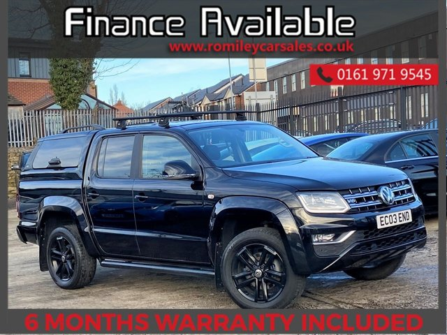 USED 2017 67 VOLKSWAGEN AMAROK 3.0 DC V6 TDI HIGHLINE 4MOTION 4d 222 BHP FULL SERVICE RECORD - FULL HEATED LEATHER - REAR CAM - NAV - HEATED LEATHER
