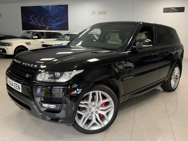 USED 2014 64 LAND ROVER RANGE ROVER SPORT 5.0 V8 AUTOBIOGRAPHY DYNAMIC 5d 510 BHP £4.2K IN EXTRAS, 6 FLRSH!!, SUPERCHARGED ENGINE! 2 KEYS ELECTRIC SIDE STEP, MASSAGE SEATS, DYNAMIC MODE, 510 BHP