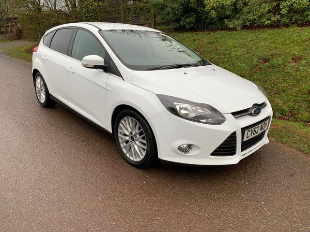 USED 2012 62 FORD FOCUS 1.6 ZETEC TDCI 5d 113 BHP ** MOT ** SERVICE HISTORY ** £20 ROAD FUND **
