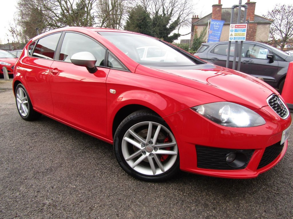 USED 2011 11 SEAT LEON 2.0 FR TSI 5d 208 BHP Excellent condition ** low miles ** Rare petrol version ** Well maintained ** Documented service history ** Finance available ** parts & labour warranty included ** AA breakdown membership  FOC ** Service plan only £15 per month **