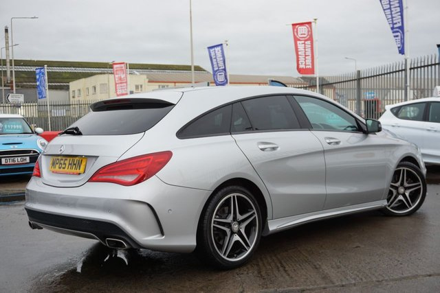 USED 2016 65 MERCEDES-BENZ CLA 2.1 CLA 220 D AMG LINE 5d 174 BHP GREAT EXAMPLE, PAN ROOF, GOOD SPEC