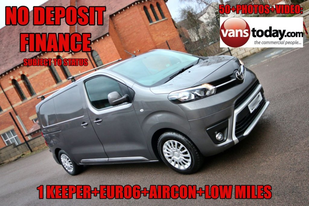 USED 2017 17 TOYOTA PROACE 1.6 L1 COMFORT 113 BHP + TOYOTA WARRANTY  NO DEPOSIT FINANCE + 1 KEEPER + GREAT SPEC