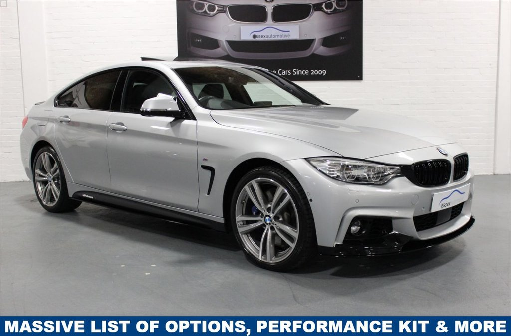USED 2017 17 BMW 4 SERIES GRAN COUPE 435d xDrive M Sport Gran Coupe 4dr Performance Kit